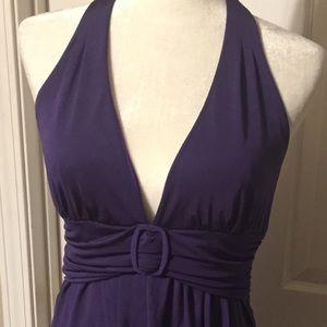 Purple dress juniors medium